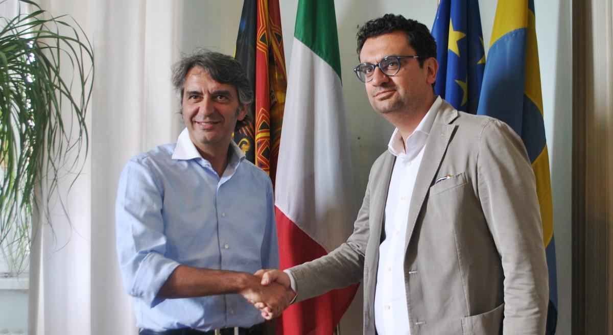 Federico Sboarina e Francesco Rucco