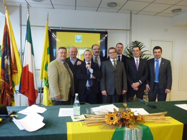 La giunta di Coldiretti Veneto