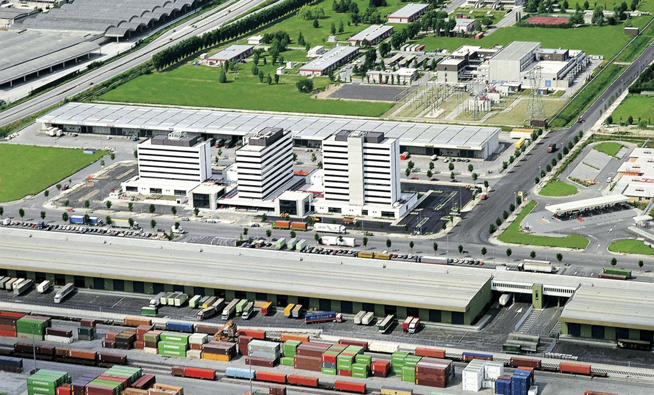 L'Interporto di Padova