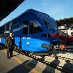 L'assessore Chisso e il nuovo treno Flirt