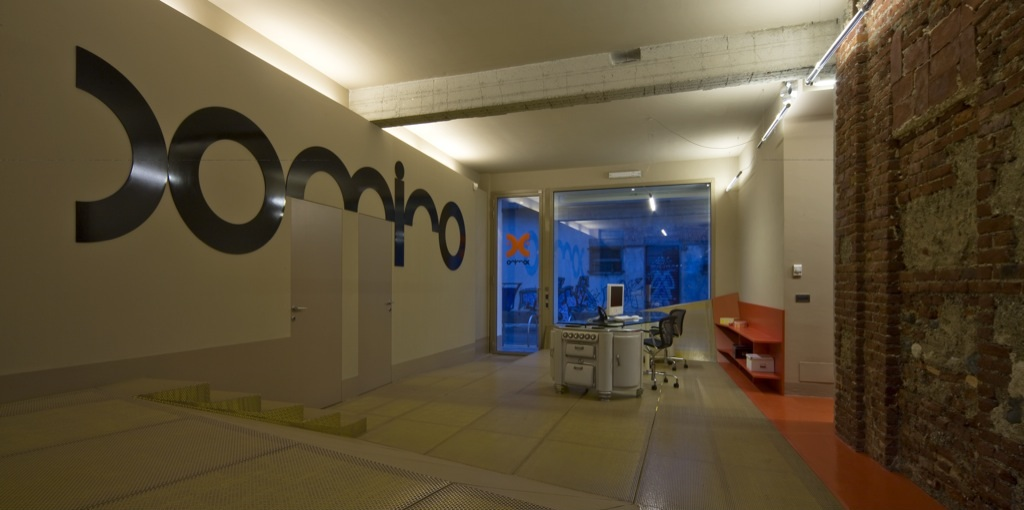 La sede dell'agenzia Domino