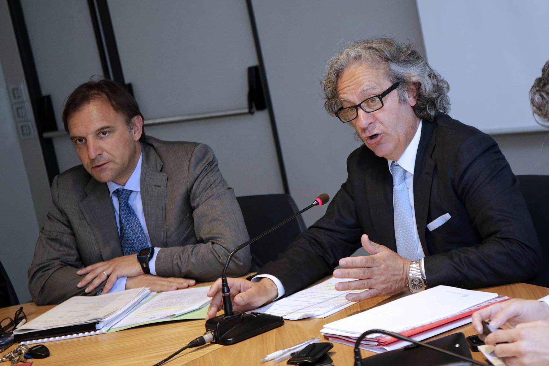 Massimo Bitonci e Massimo Finco