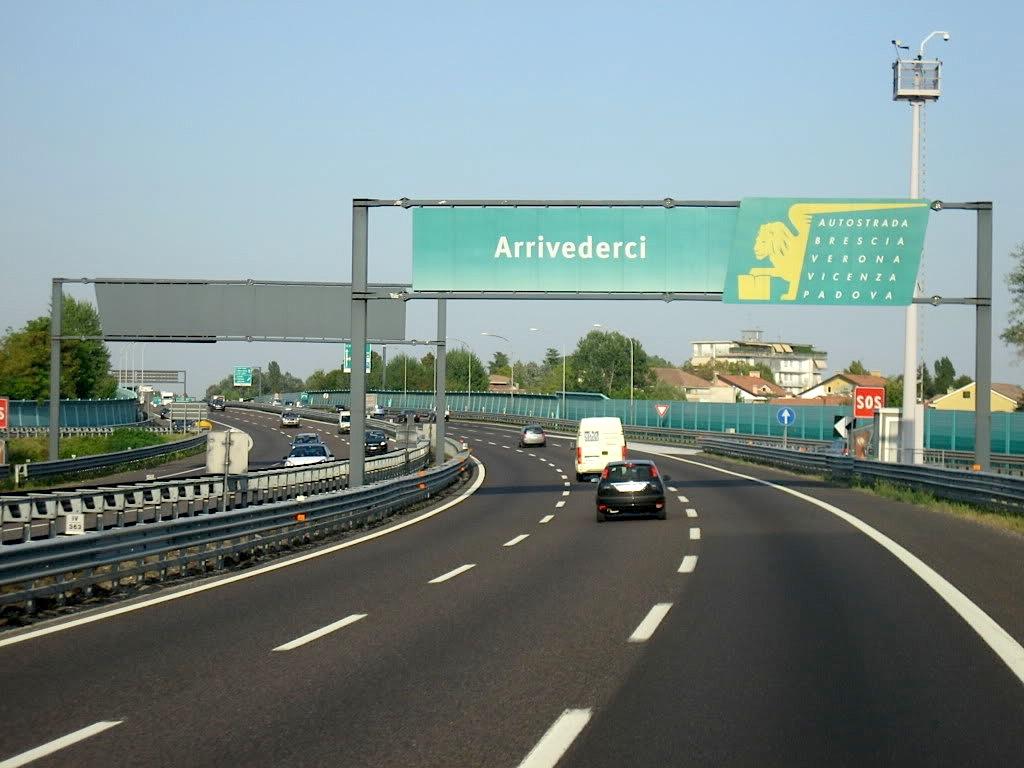 Autostrada autovie A4 Brescia-Padova