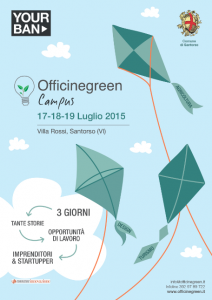 La locandina di Officinegreen Campus