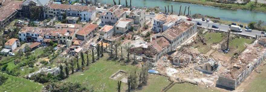 tornado riviera del brenta calamità naturali