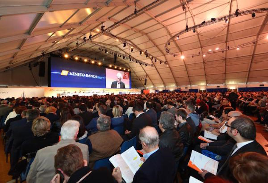 Veneto Banca, assemblea dei soci