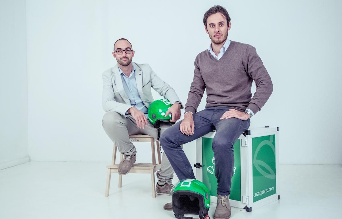 Edoardo Monte e Andrea Galla, fondatori di Cosa ti porto?