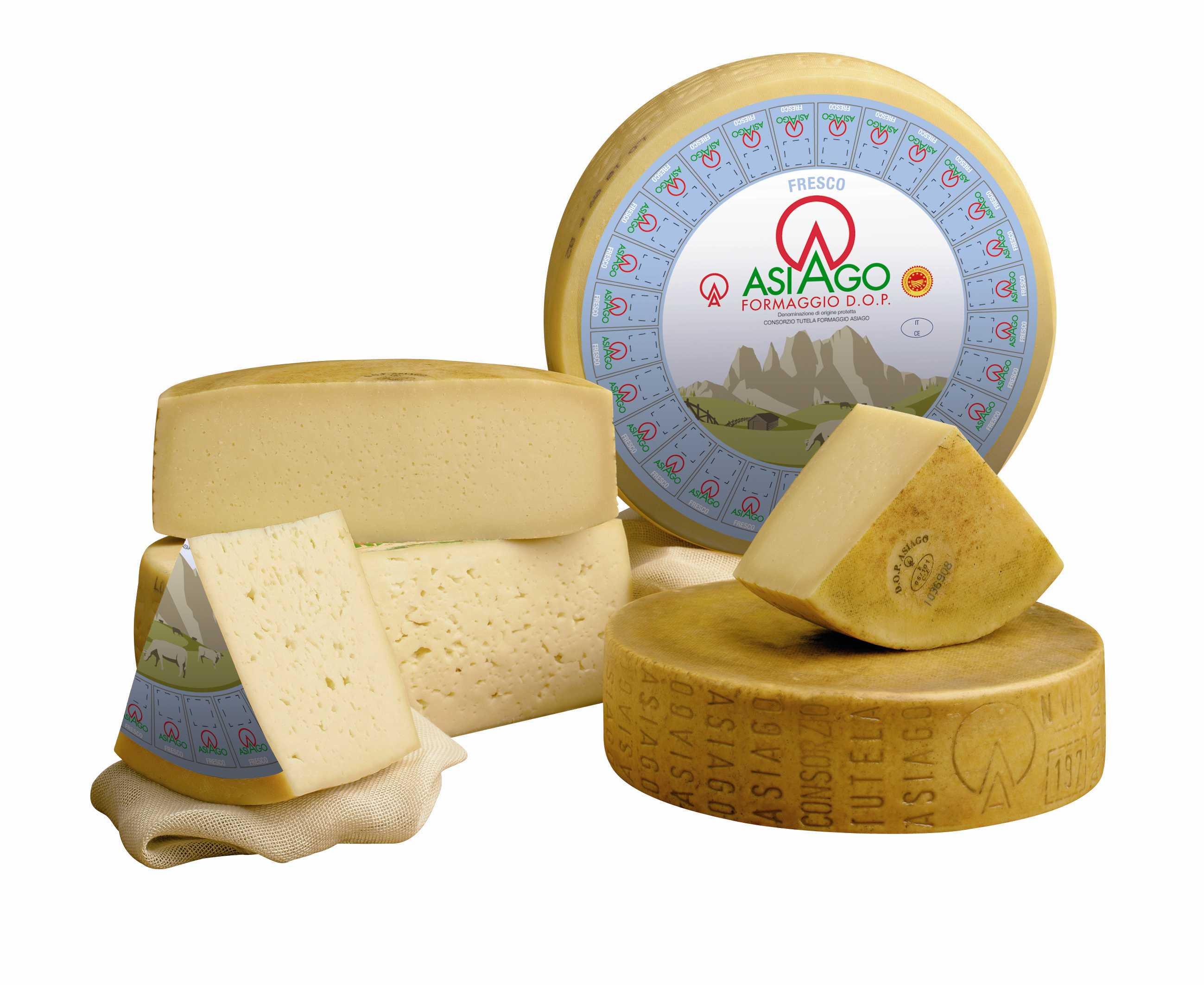 formaggio asiago dop