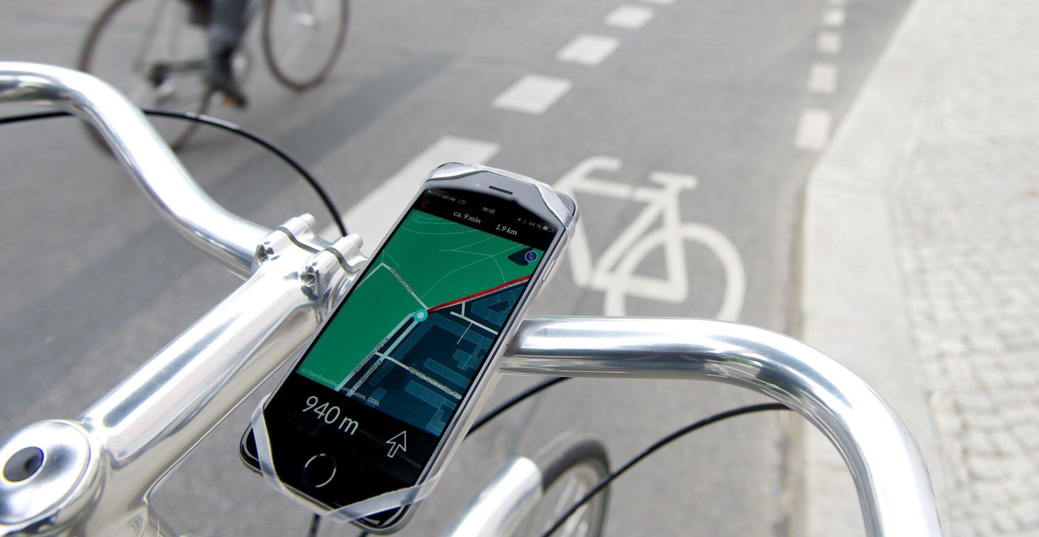 mobilita bicicletta smarphone app