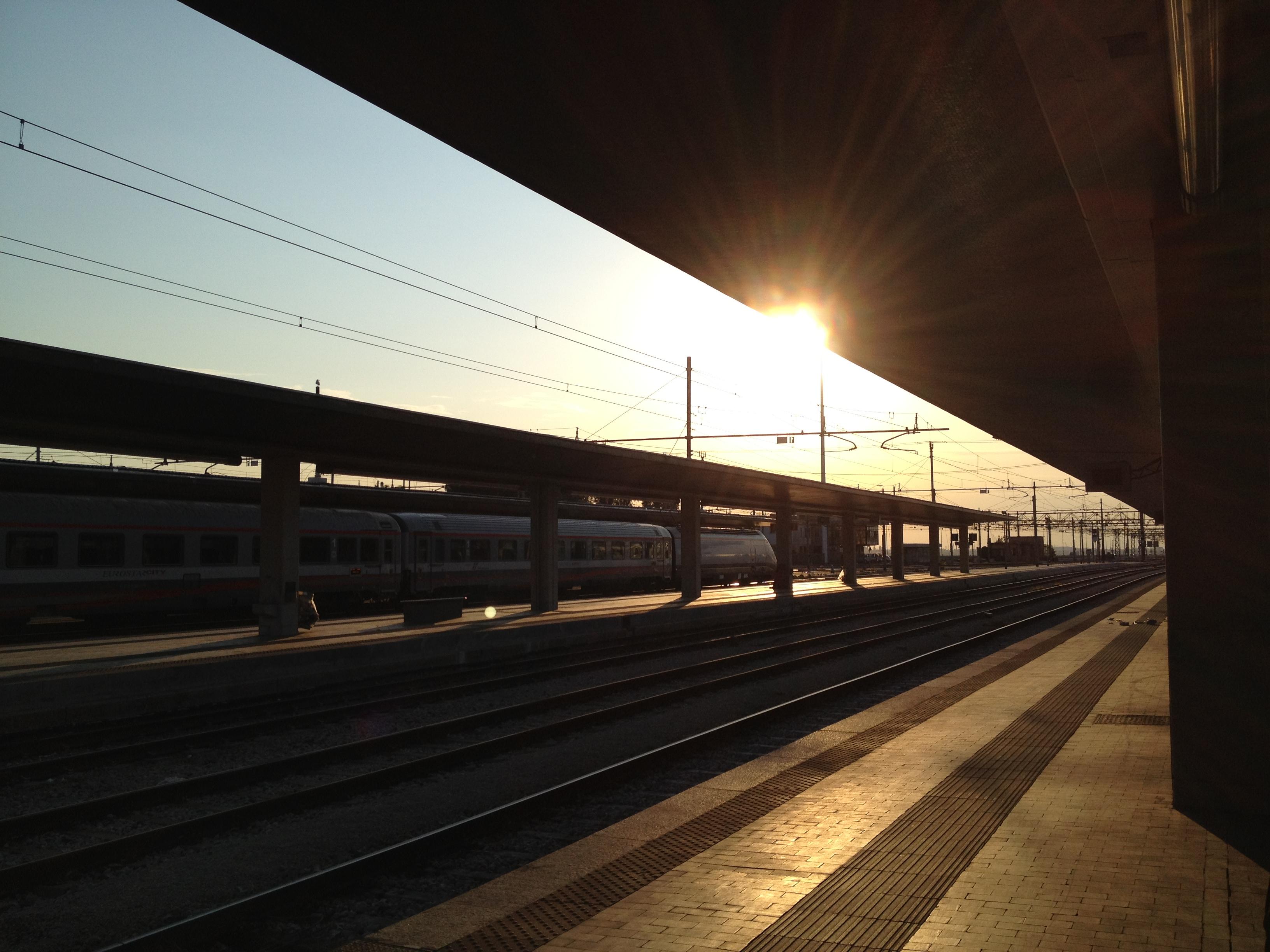 treno da Venezia dopo la mezzanotte