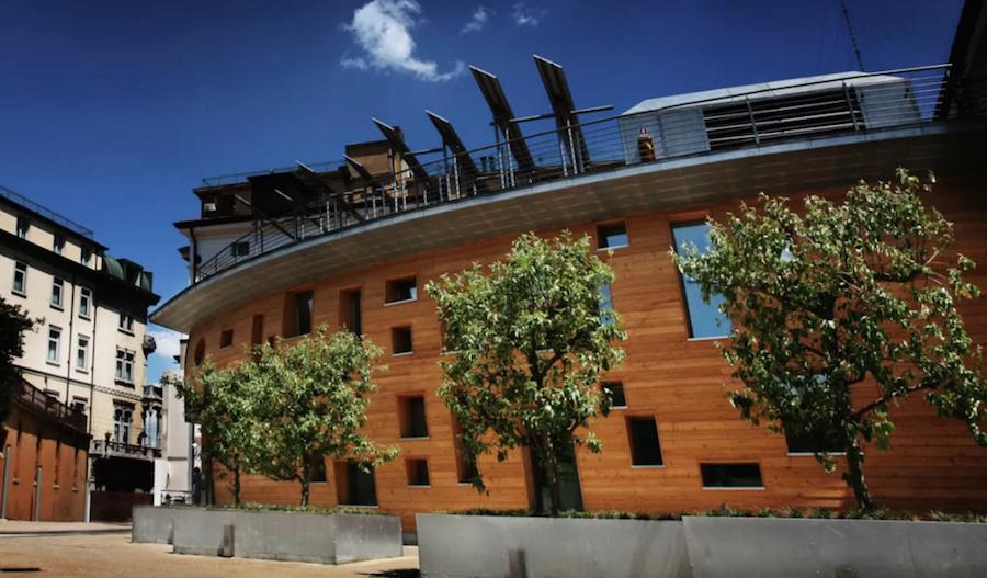 La sede di Banca Etica a Padova