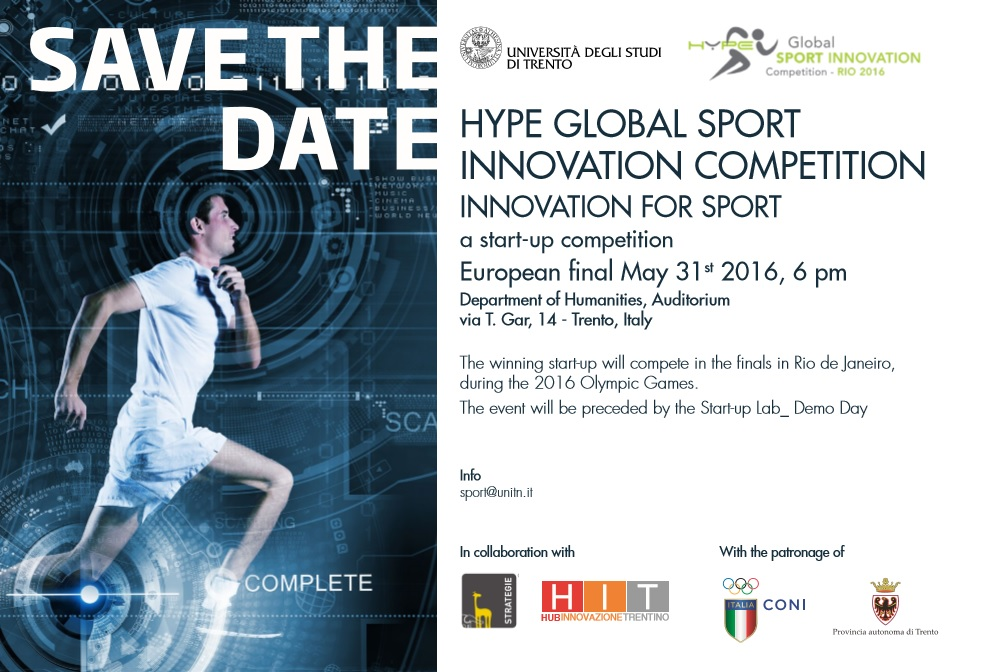 Hype Global Sport Innovation Competition Rio 2016