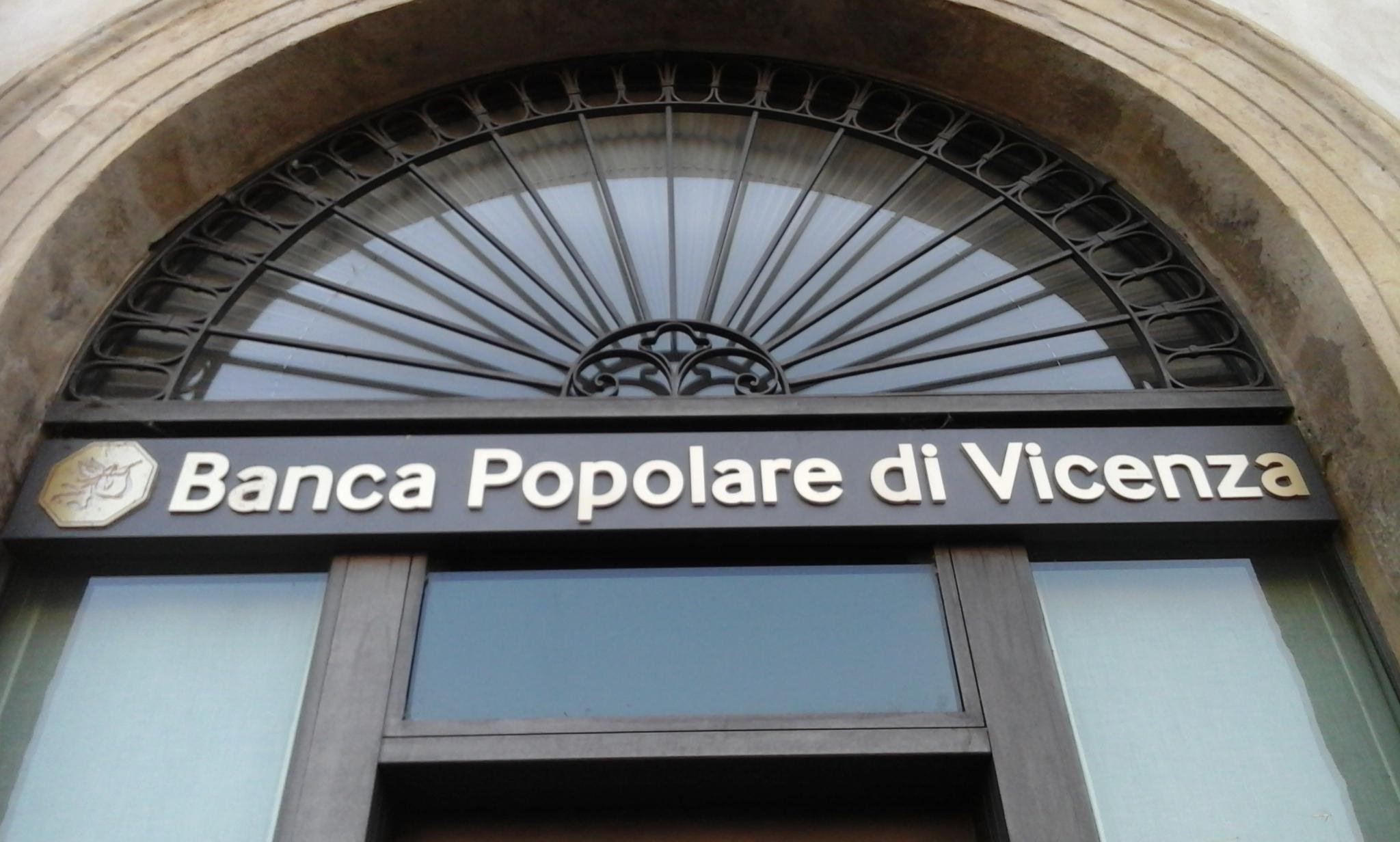 Filiale della Banca Popolare di Vicenza. Foto di Giulio Todescan per Venetoeconomia.it, citare la fonte. Bpvi