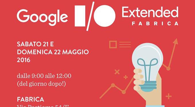 Google I/O Extended Fabrica