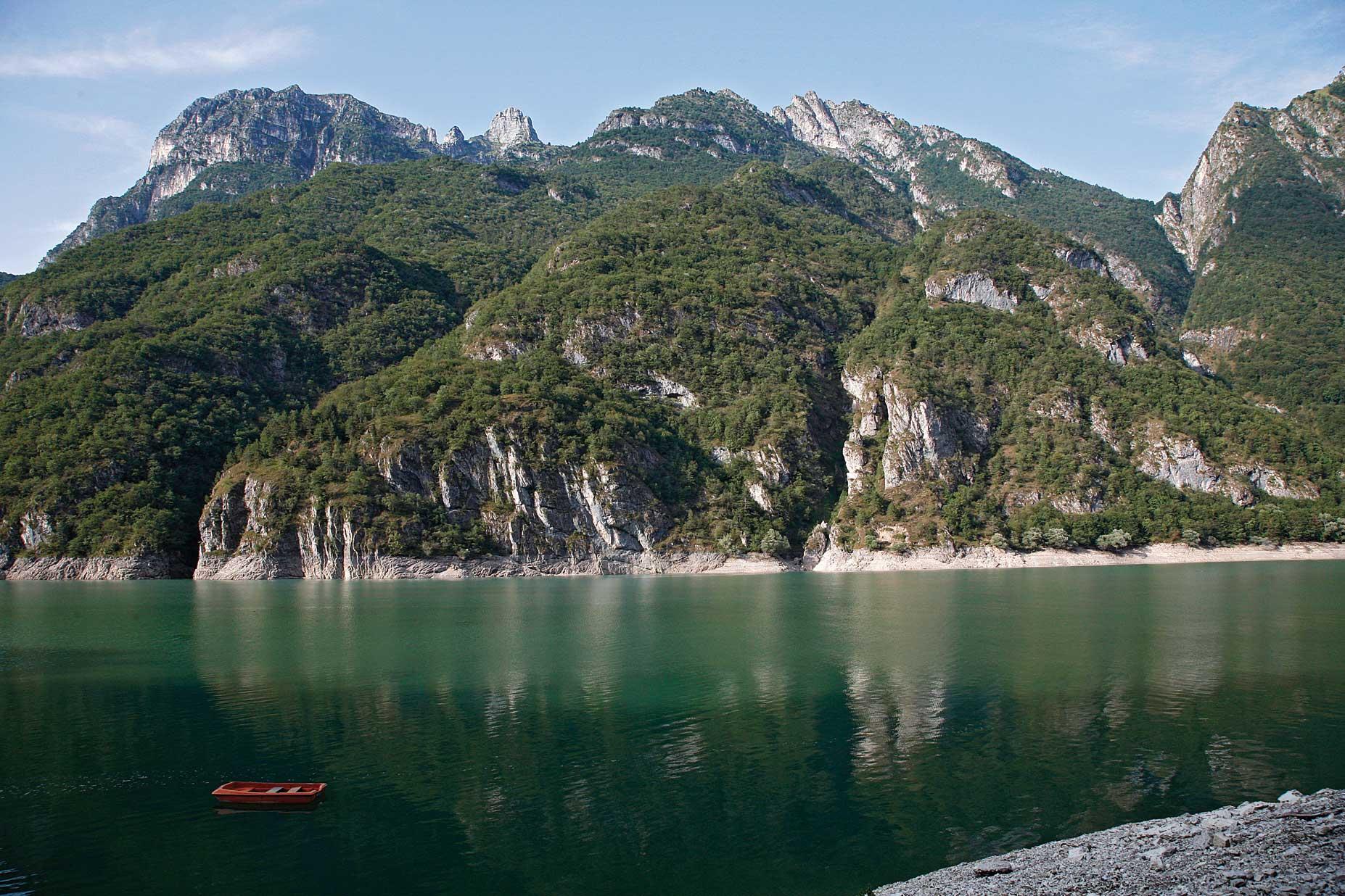 Lago del Mis a Sospirolo