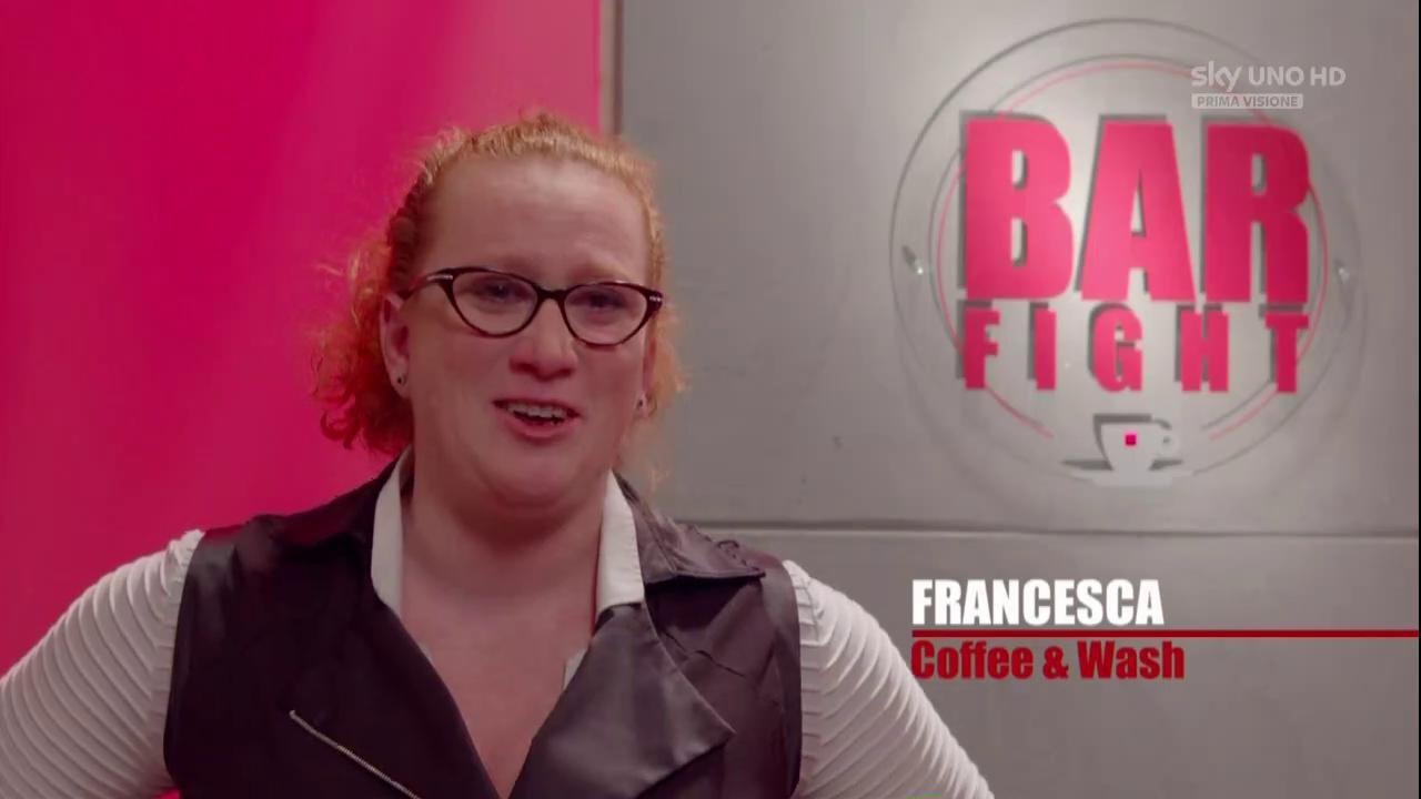 Francesca Salvan Bar Fight!