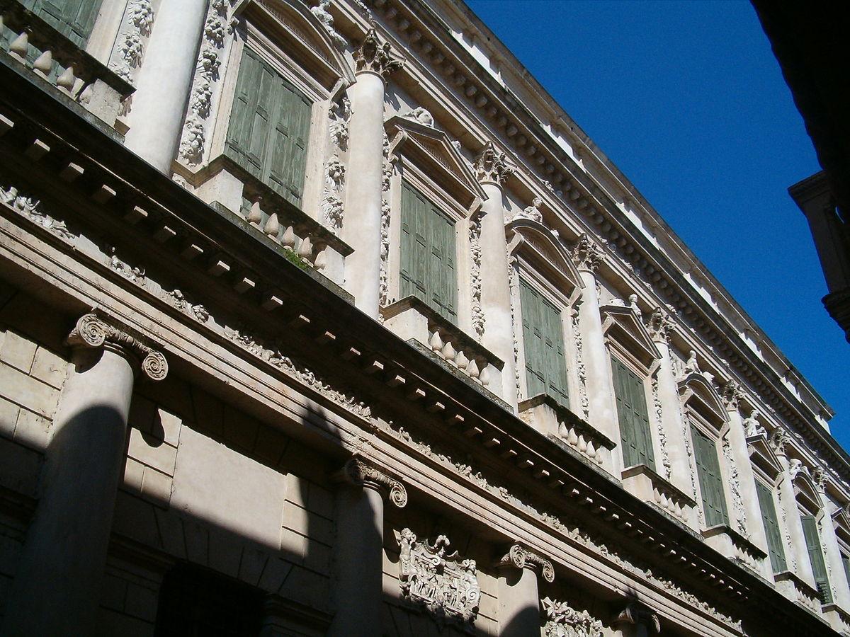 Palazzo Barbaran da Porto sede dei Cisa e Palladio Museum a Vicenza