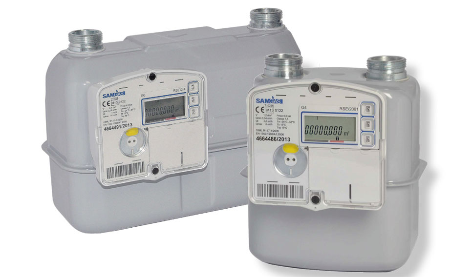 contatore del gas digitale smart metering