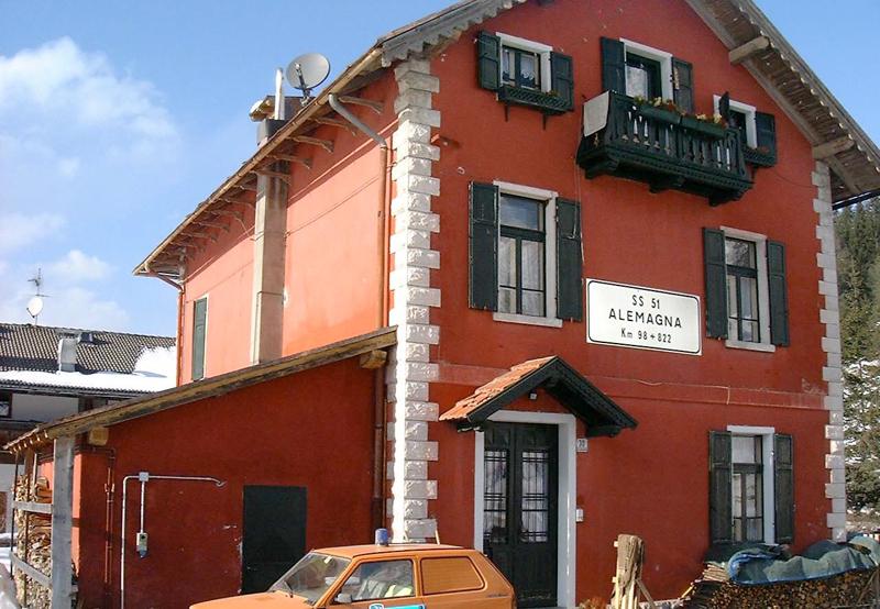 Casa cantoniera Acquabona a Cortina d'Ampezzo