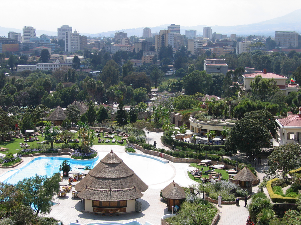 Addis Abeba in Etiopia