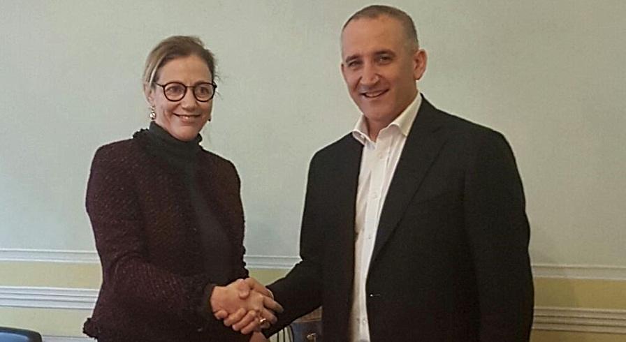 Monica Scarpa e Renato Mazzoncini