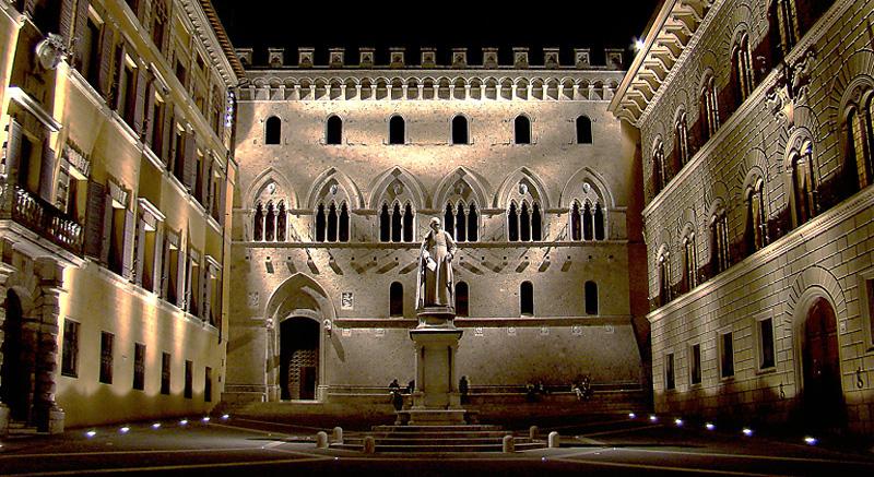 Mps Monte dei Paschi di Siena Di Tango7174 - Opera propria, GFDL, https://commons.wikimedia.org/w/index.php?curid=8898309