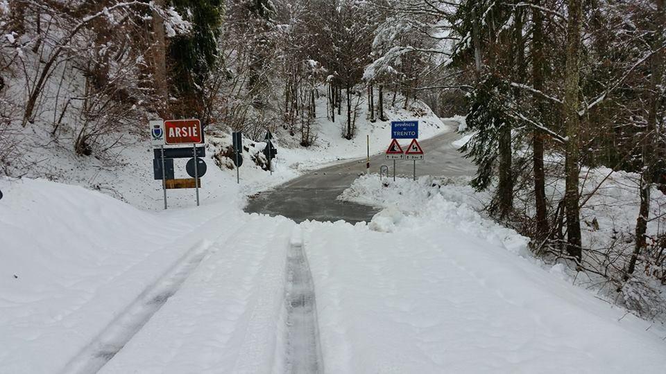 foto neve confine veneto trentino