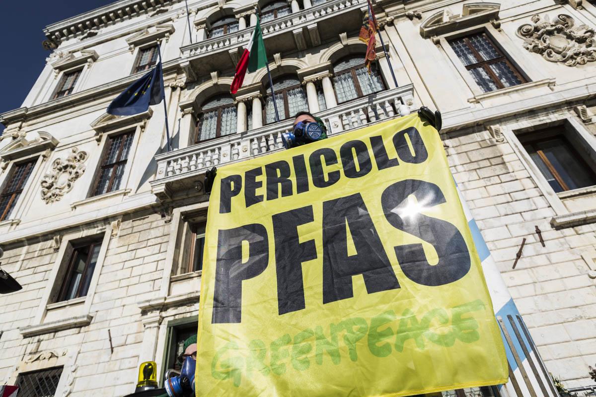 pfas greenpeace regione veneto palazzo balbi