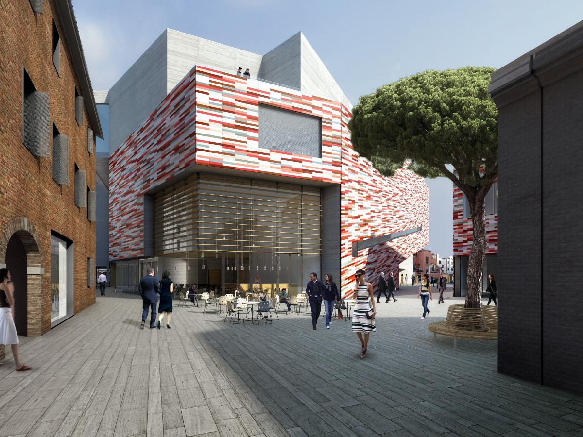 museo m9 mestre rendering