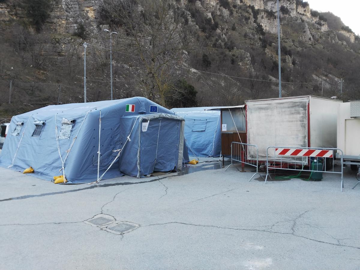 terremoto centro italia mensa monte cavallo