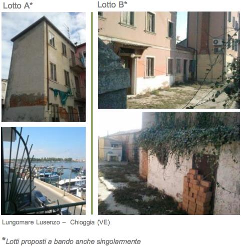 abitazioni canale Lusenzo chioggia