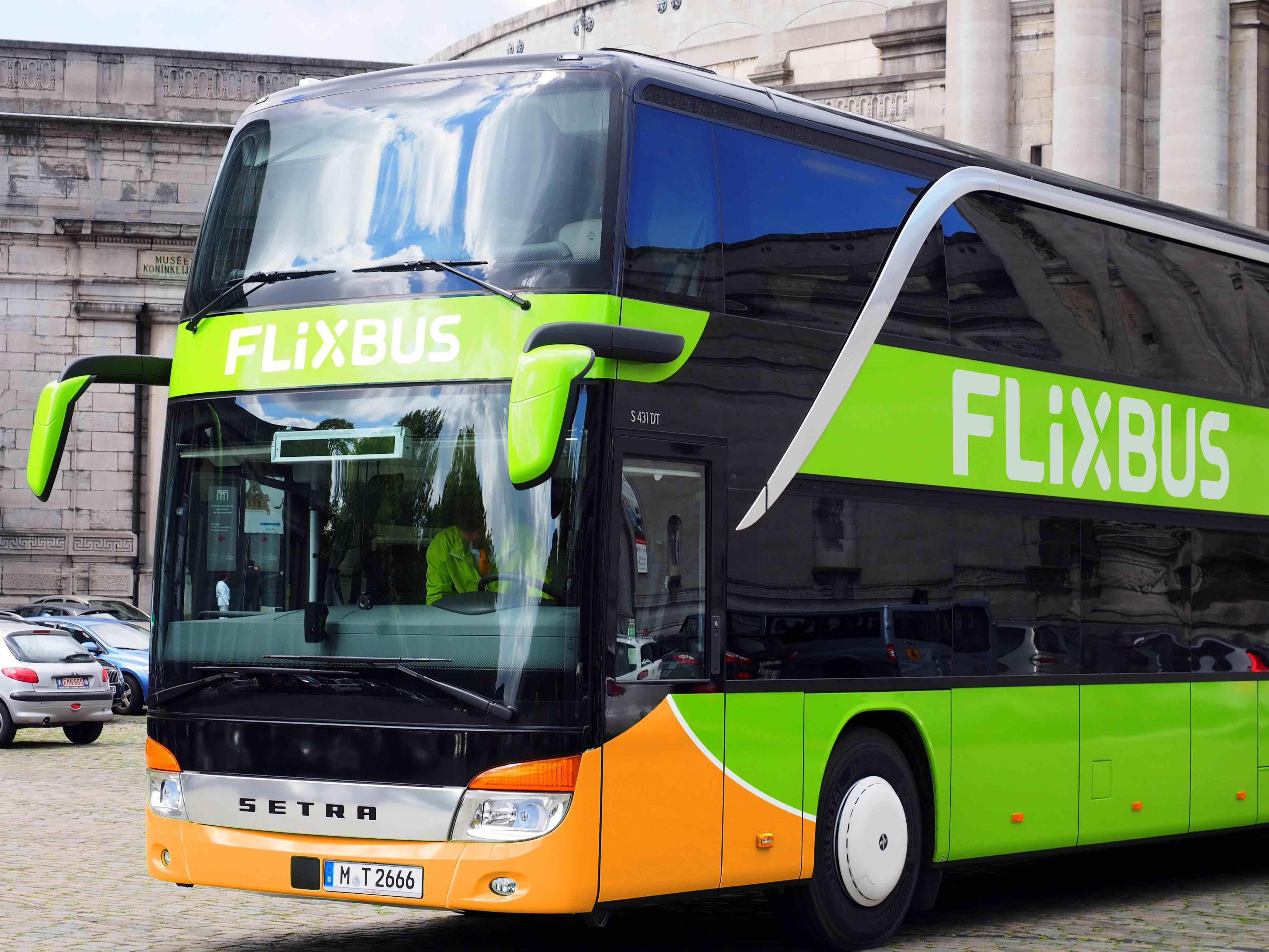 Un autobus Flixbus