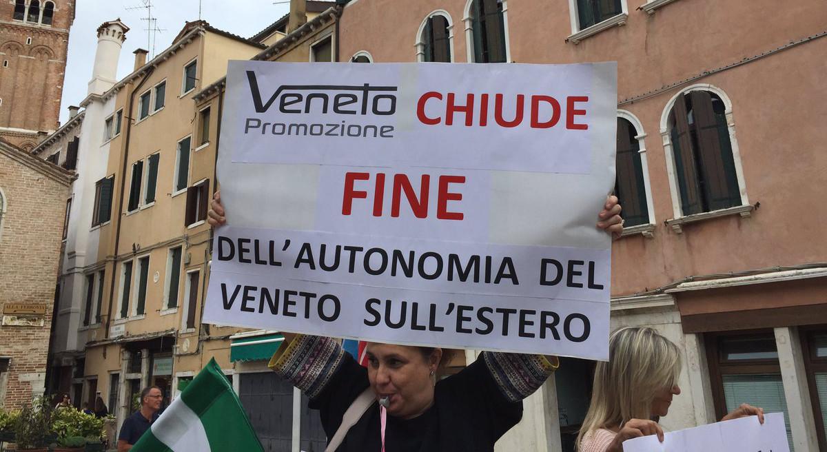 Veneto Promozione protesta