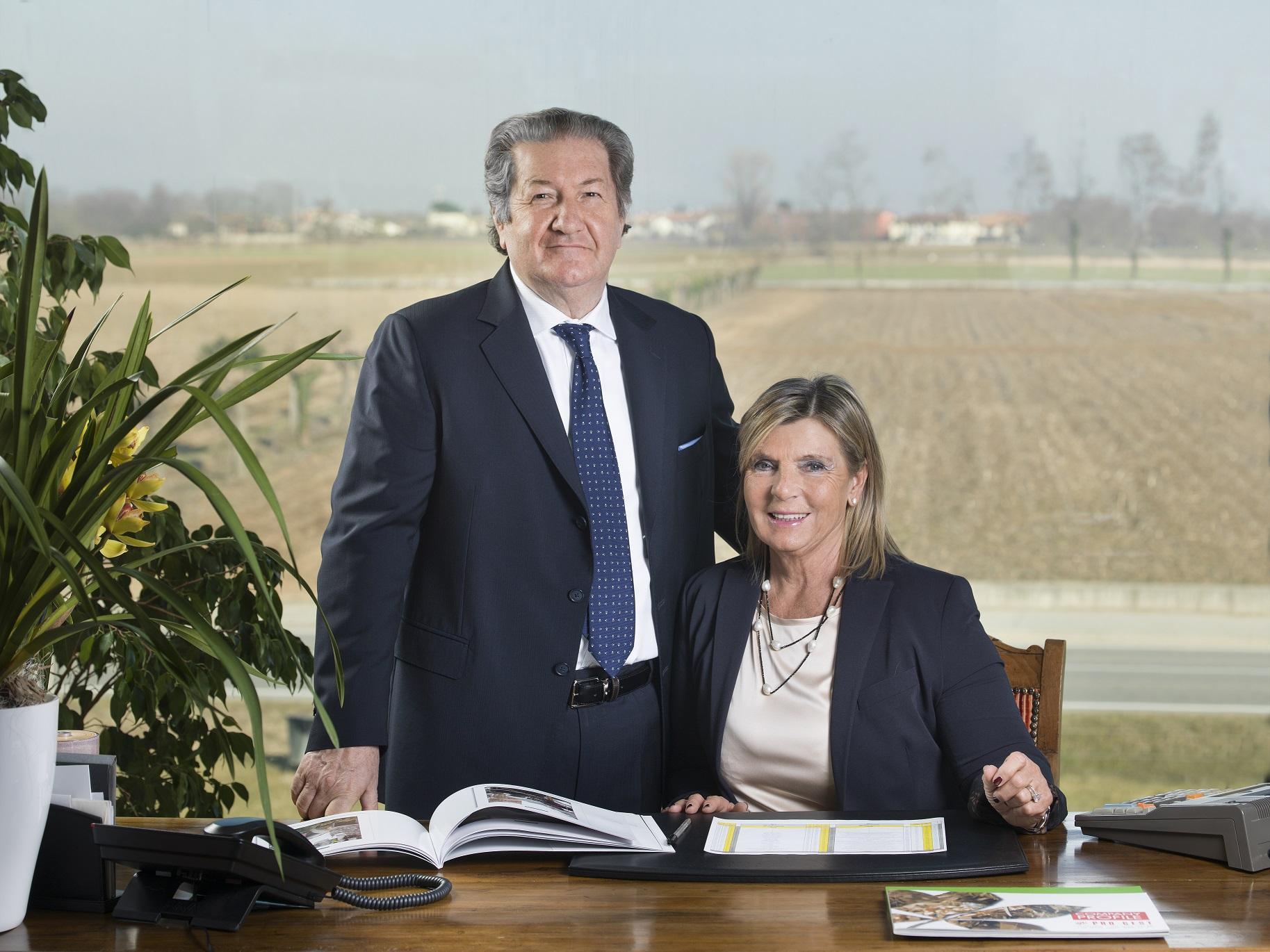 Bruno Zago e Anna Maria Gasparini