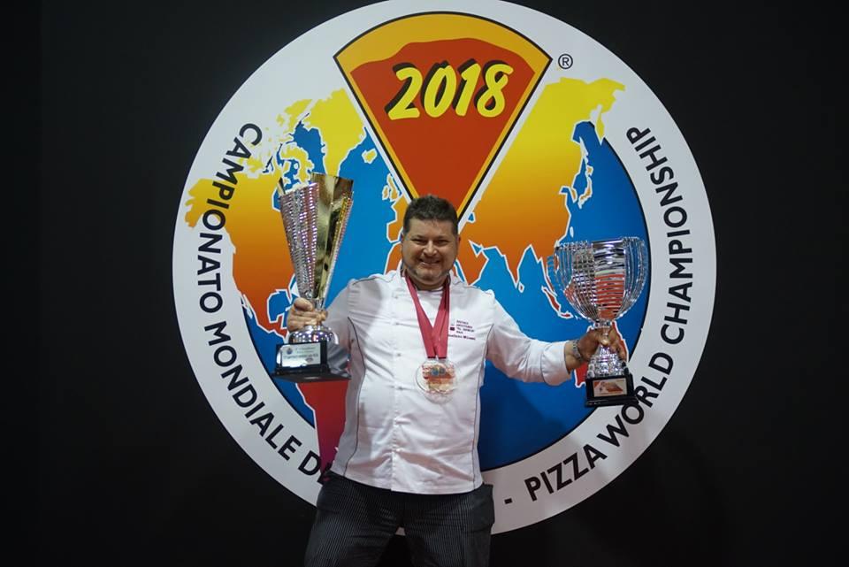 Stefano Miozzo pizza