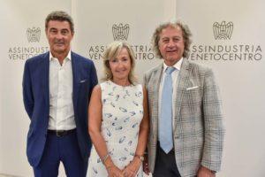 Giuseppe Milan, Maria Cristina Piovesana e Massimo Finco