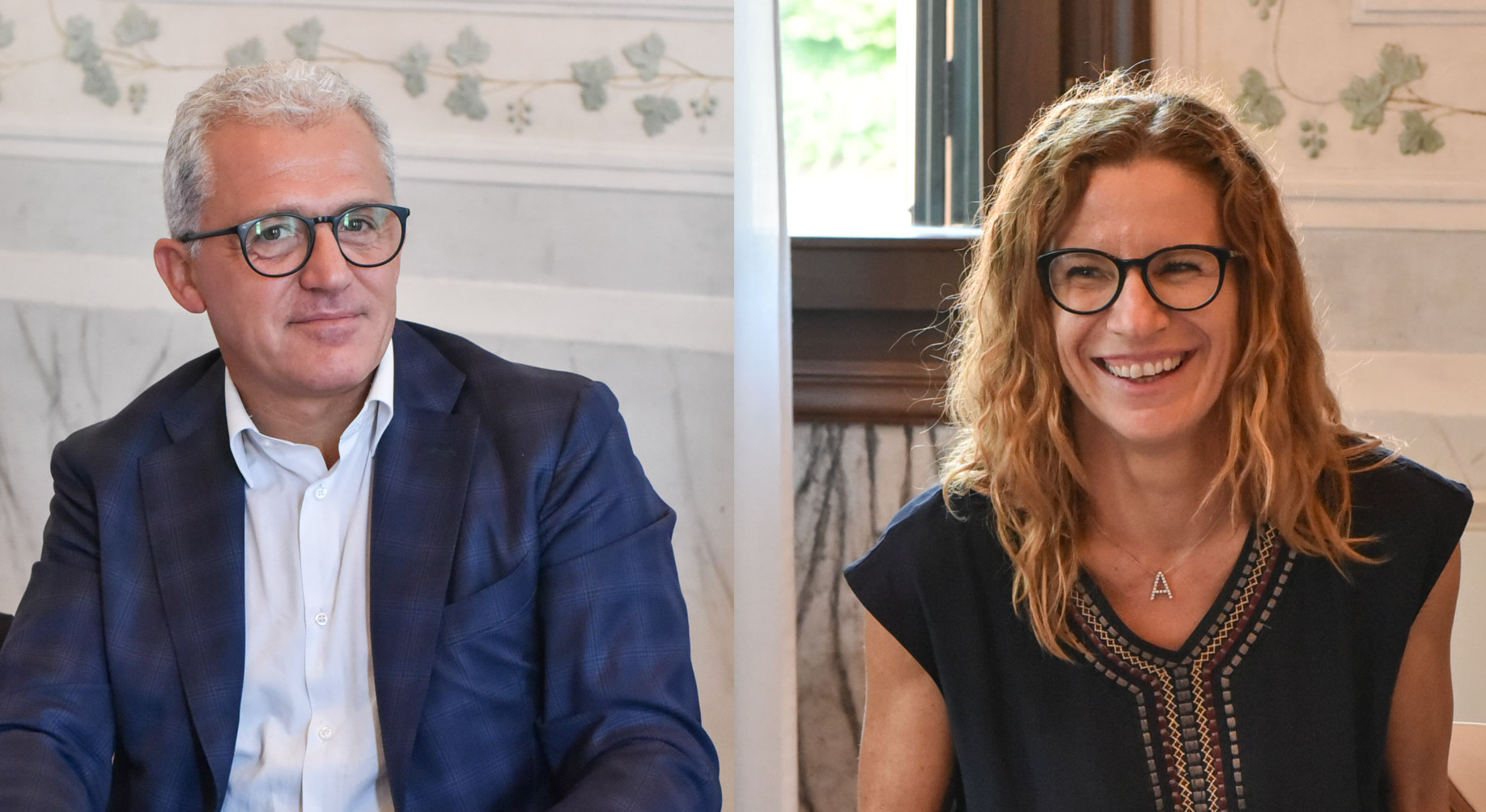 Mario Ravagnan e Antonella Candiotto