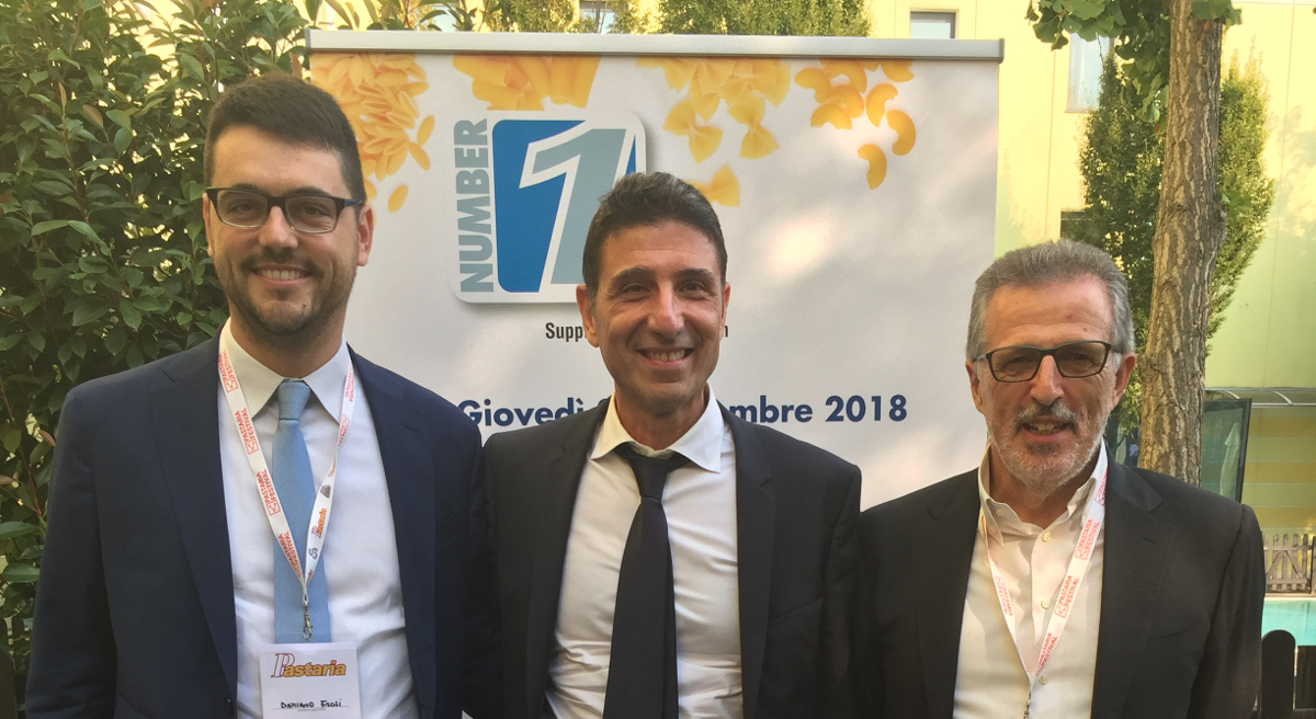 Damiano Frosi, Nicola Solfrizzi e Renzo Sartori