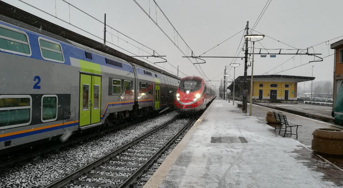 neve treno