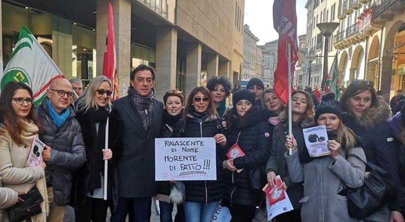 rinascente-padova-protesta