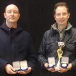 2019 Daniele e Alexander Agostinetti con le medaglie ricevute