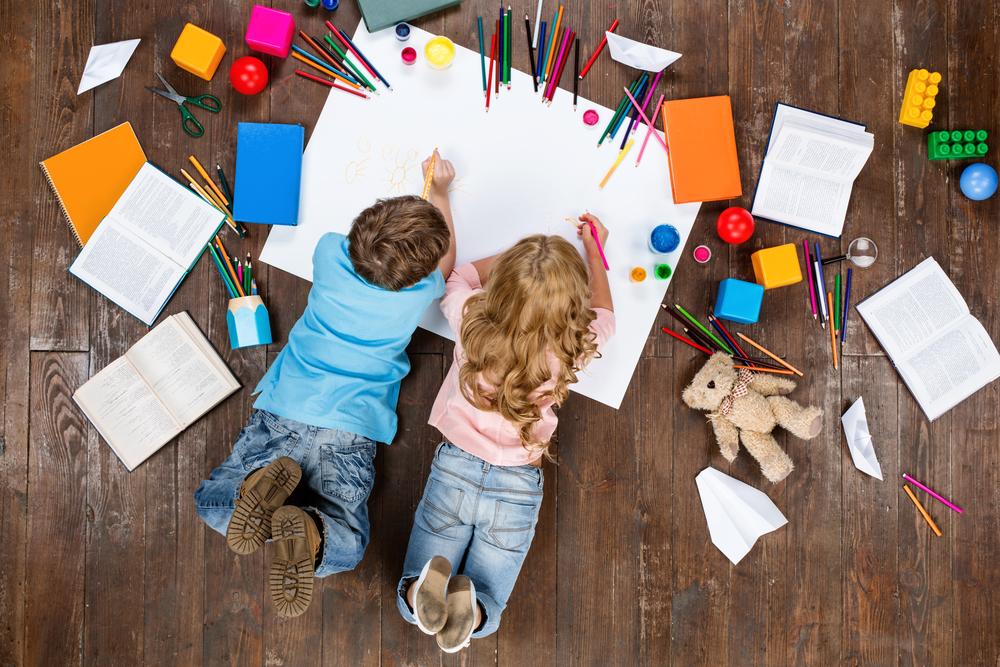 Disegni dei bambini come design per le aziende, a Padova nasce «Uffa»