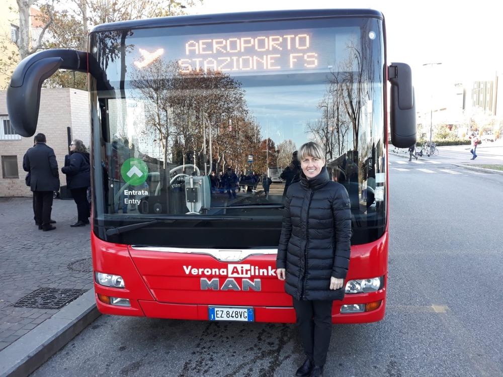 Al via Verona Airlink, il bus diretto stazione-aeroporto