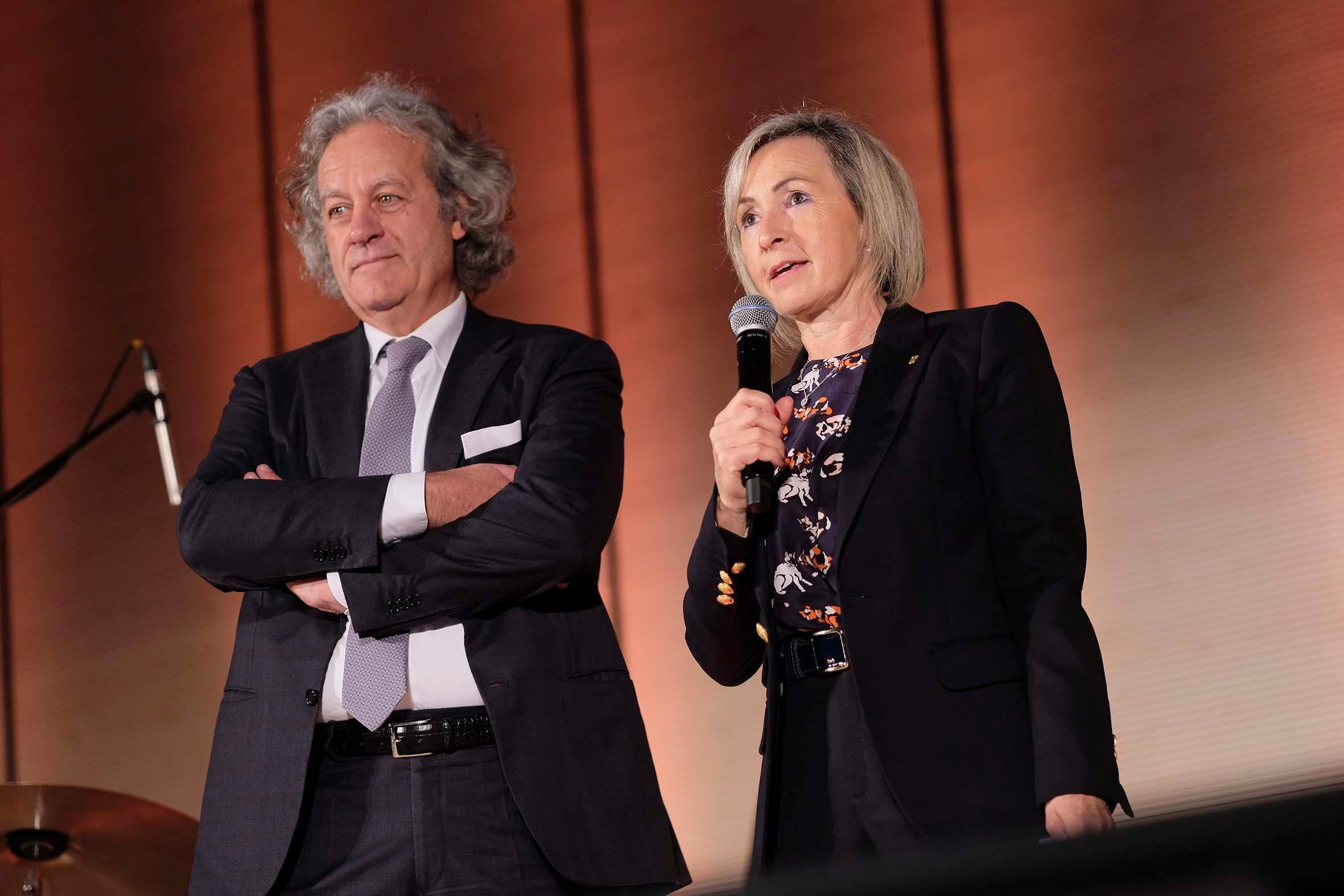 Massimo Finco e Maria Cristina Piovesana