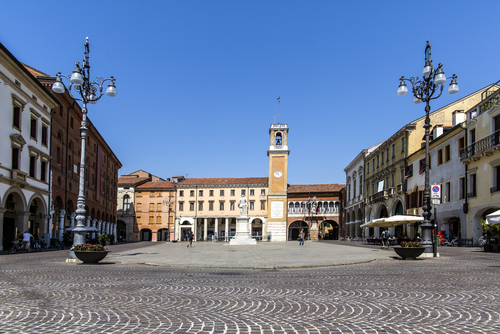 Il centro di Rovigo